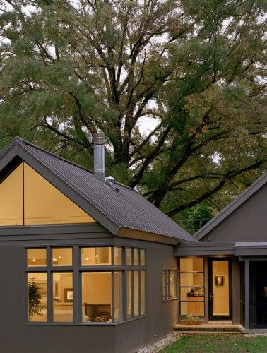 Gable, metal roof. No gutters. | House | Modern farmhouse ... on farmhouse designs from the 1900s, contemporary exterior design, rustic exterior design, shed exterior design, office exterior design, transitional exterior design, lodge exterior design, italianate exterior design, modern colonial exterior design, victorian exterior design, studio exterior design, garden exterior design, warehouse exterior design, barn exterior design, traditional exterior design, tri level exterior design, southwestern exterior design, garrison exterior design, mid-century exterior design, houses exterior design,