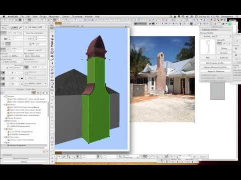 ArchiCAD Tip #22: Modeling tips for Chimneys in ArchiCAD