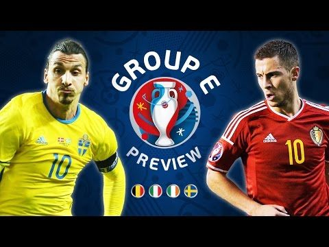 Euro 2016 Group E Preview Belgium Republic Of Ireland Sweden Italy Http Www Football5star Com High Uefa Euro 2016 Euro 2016 Football Daily