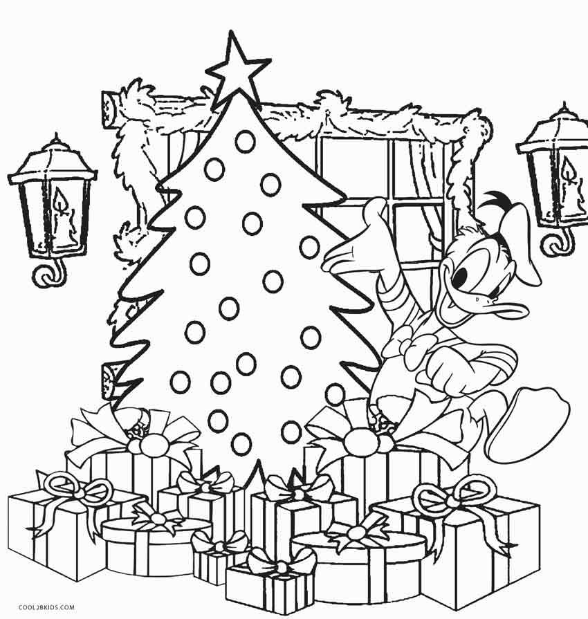 Disney Coloring Pages Christmas coloring pages