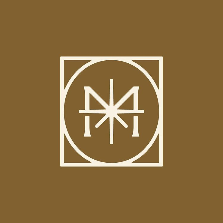 Another Unused M North Star Mark From A Craft Brew Brand Star Logo Design Logomark Design Wine Logo