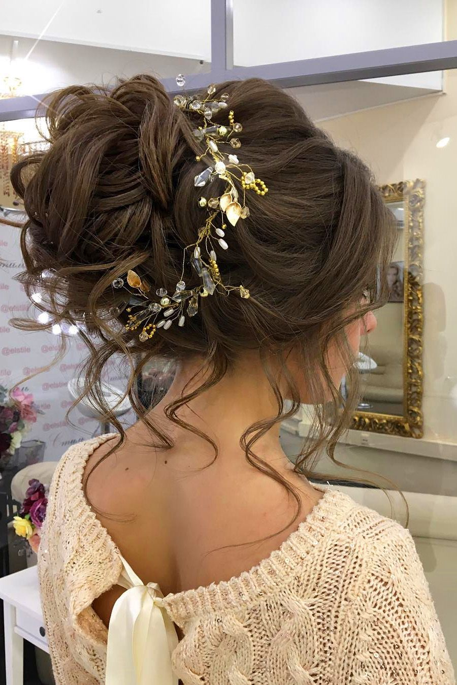 30 Lovely Wedding Bun Hairstyles Wedding Forward Hairdo Wedding Bun Hairstyles Hair Styles