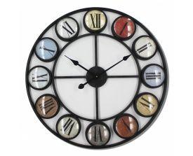RelógioCírculos/Metal