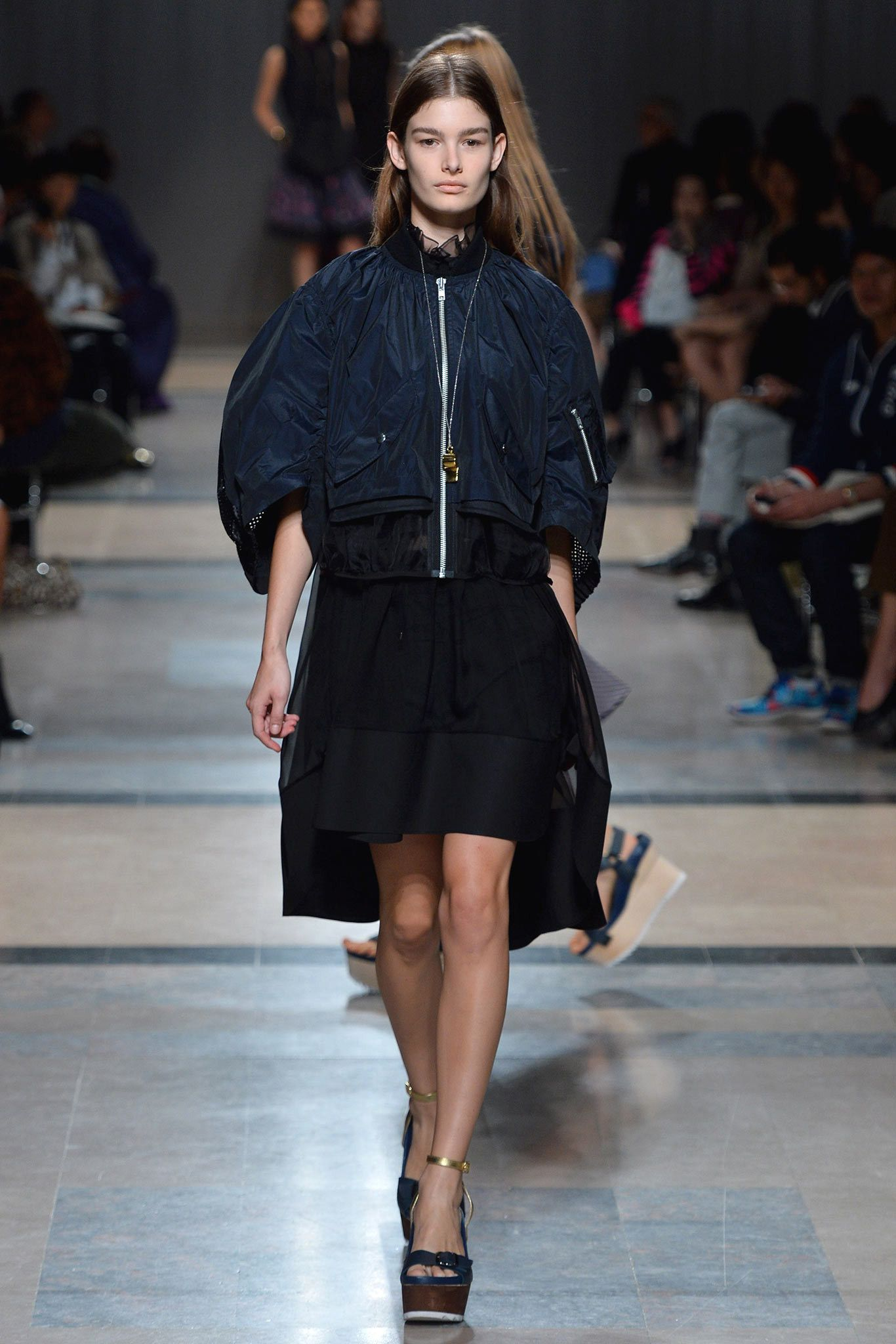 Sacai Spring 2014 Ready-to-Wear Fashion Show - Ophelie Guillermand (Women)