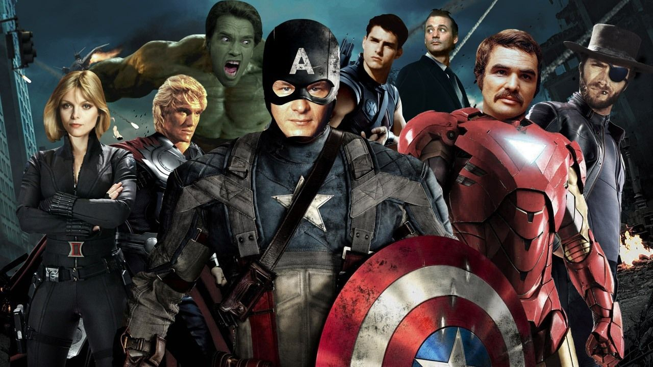 фото всех мстителей марвел использовать специальные программы