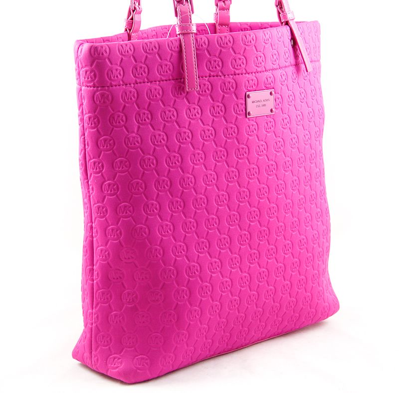 2fae3d085236 Got this at Ross for $59! michael kors lacquer pink neoprene tote - Google  Search