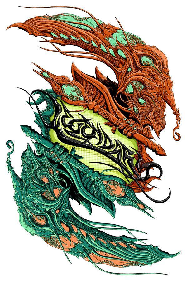Legendary: Illustration Project on Behance