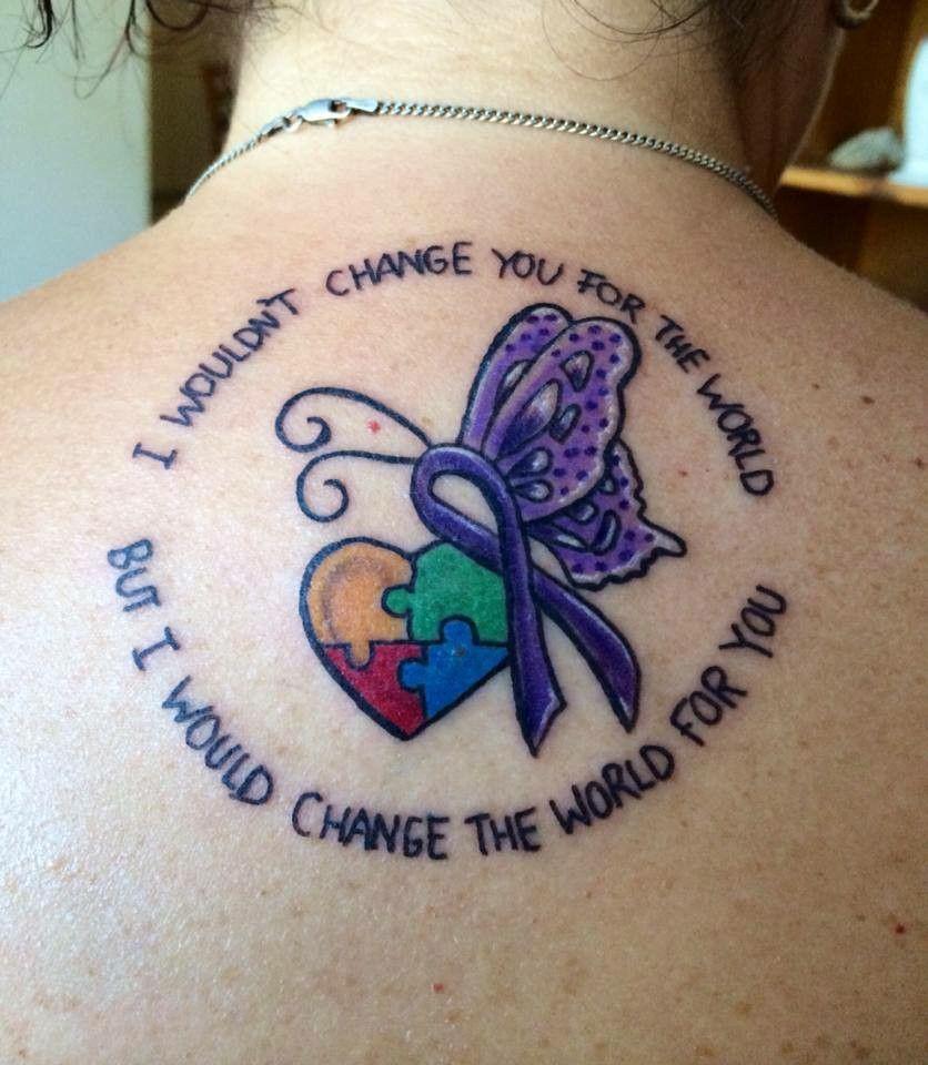 Epilepsy Tattoo Quotes: Epilepsy Ribbon, Autism Puzzle Pieces …