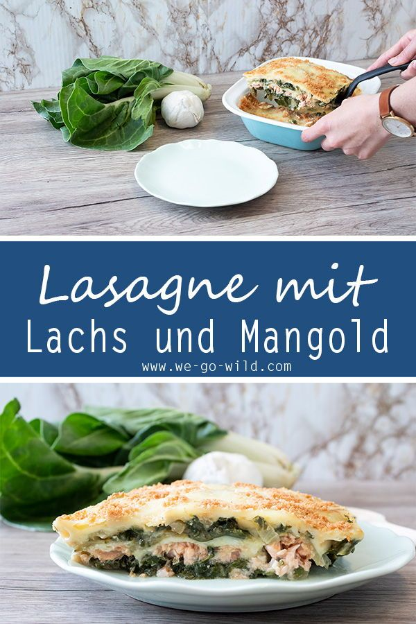 Photo of Juicy Swiss chard lasagna with salmon fillet and zucchini – WE GO WILD