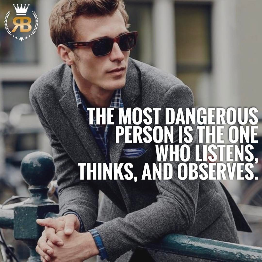 """1,217 Likes, 25 Comments - Your Success Is Our Goal (@risebeyond.fam) on Instagram: """"Listen, think, observe! DOUBLE TAP if you agree with this!TAG someone! #risebeyond  -…"""""""