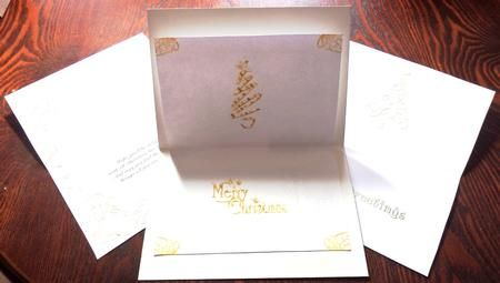 12 Gold And Silver Landscape Christmas Inserts On Craftsuprint