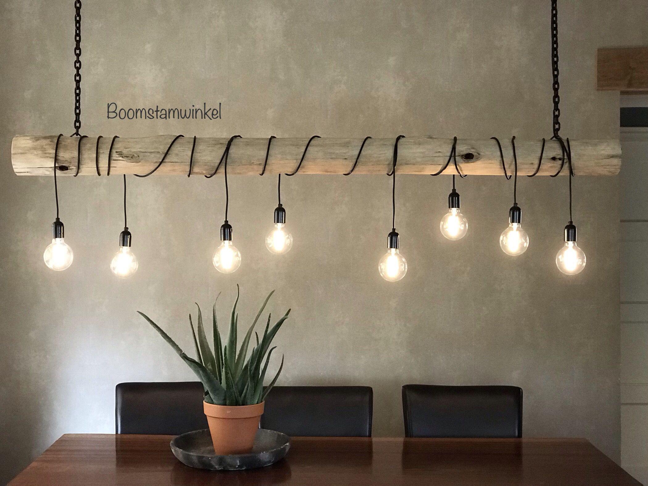 Boomstam Hanglamp Parel Hanglamp Boomstam Thuisdecoratie