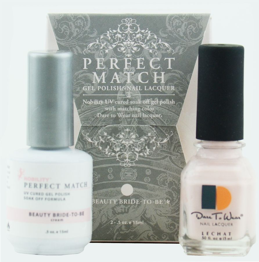 lechat perfect match 50 beauty bride to be i love this gel