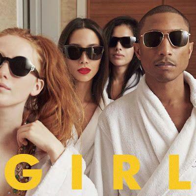 Pharrell Williams - G I R L 2014 English Music Album 320kbps
