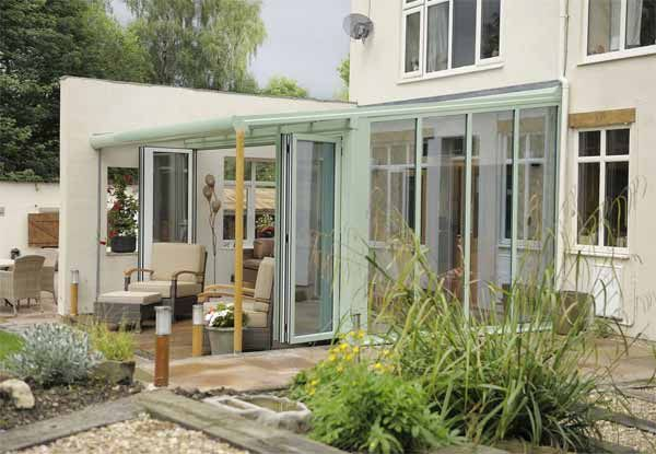 Beautiful Lean To Veranda Conservatory, A Conservatory With A Difference
