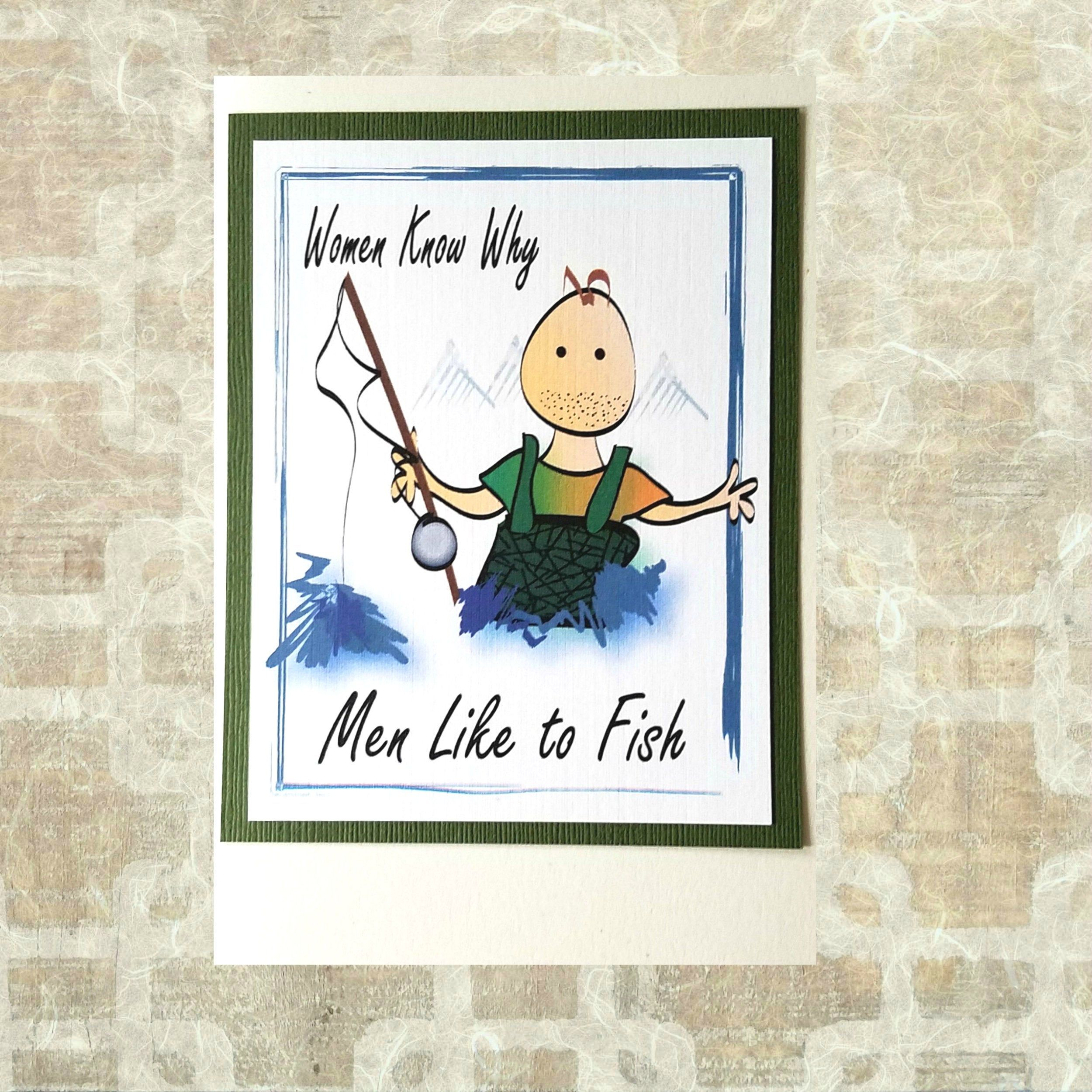 Funny Fishing Birthday Card For Him Snarky Boyfriend Happy Etsy Birthday Cards For Him Fishing Birthday Cards Funny Birthday Cards
