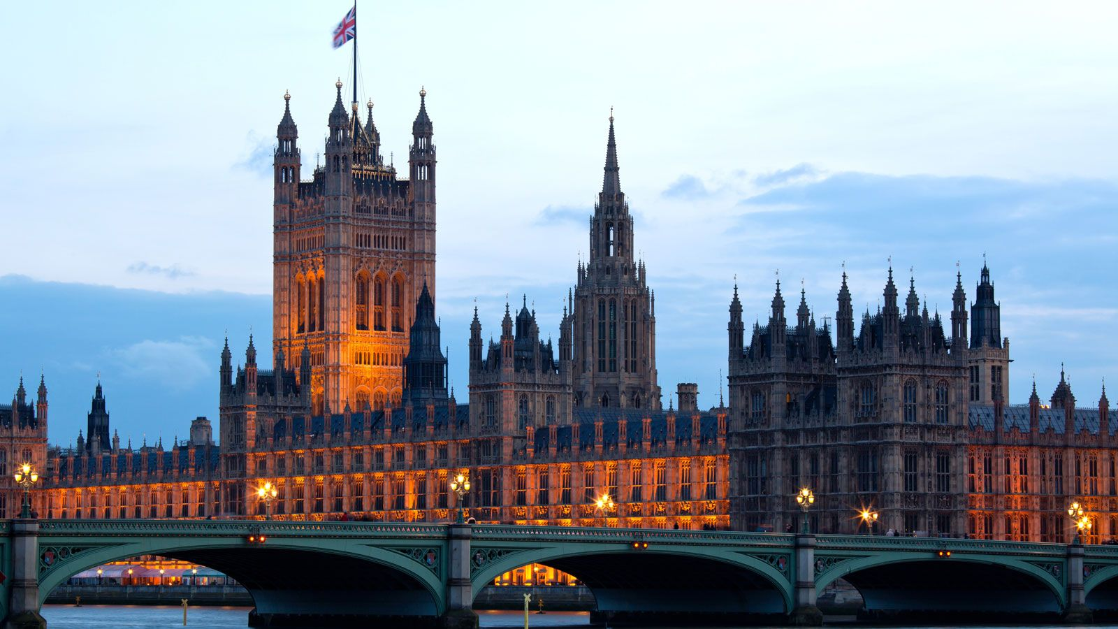 Palace of Westminster. London, England. Nearest airport: London Heathrow Airport (LHR). Way to get there: www.getgoing.com