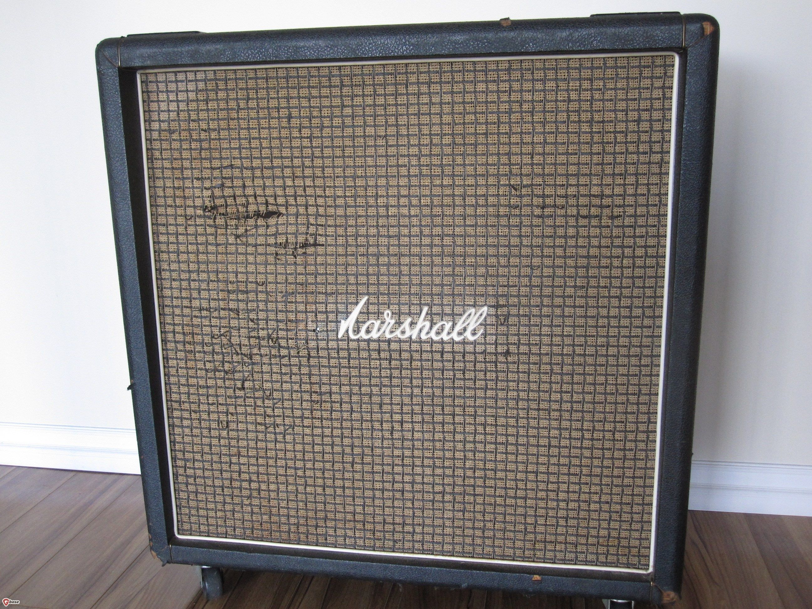 hight resolution of 1972 vintage marshall 1960b 4x12 celestion cab t1281 speaker cabinets gbase com