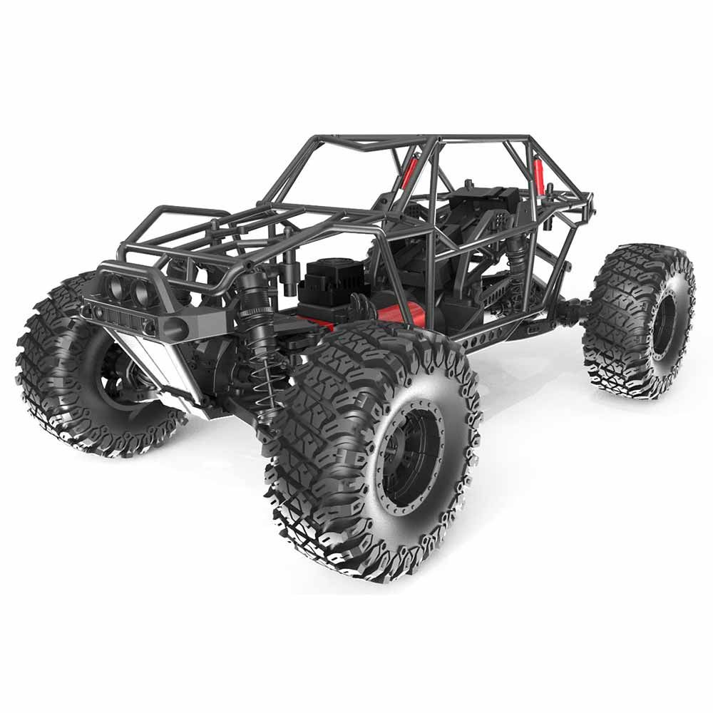 Redcat Camo X4 1 10 Scale Brushless Electric Rc Rock Racer 1 10 Scale Roll Cage Rc Cars