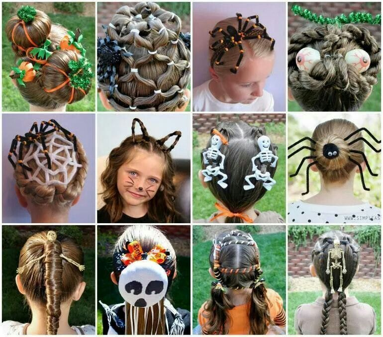 Hair styles & ornaments