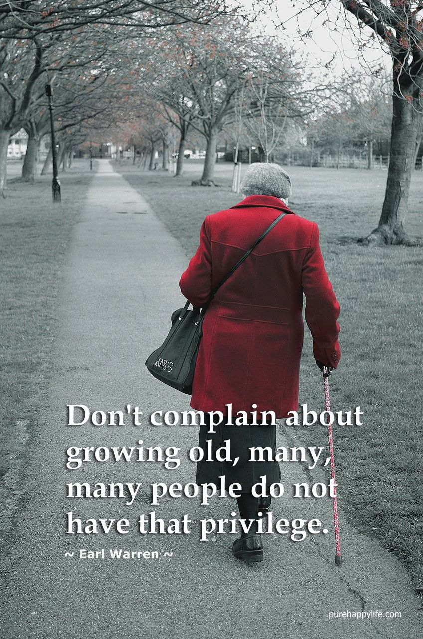 Why do people grow old