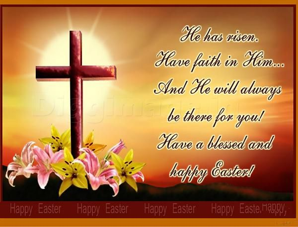 Happy Easter Wishes and Messages – Easter Greeting Card Sayings