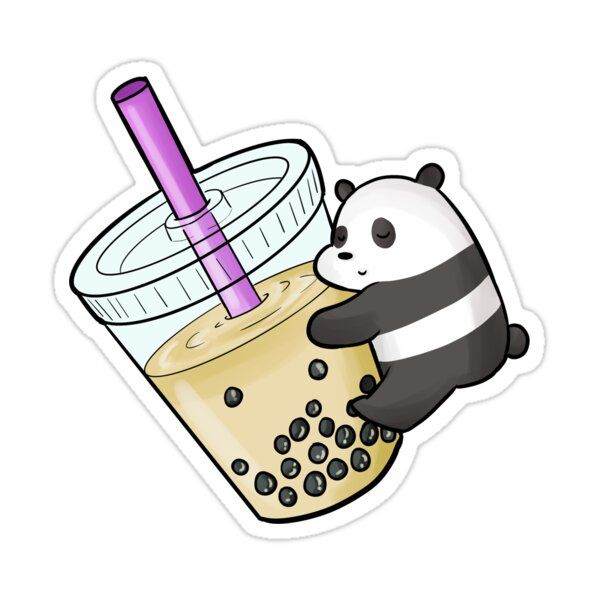 PANDA - TEA Sticker