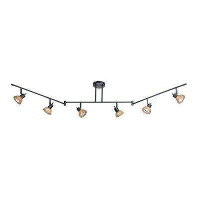Cascadia Lighting 6 Light Directional Zigzag Rail Track Kit At Lowe Canada Find Our Selection Of Kits The Lowest Price