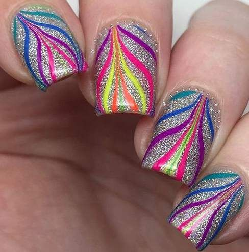 Easy Nail Designs For Beginners Nail Art For Beginners Pinterest