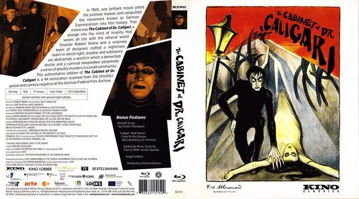 the cabinet of caligari 1919 | The Cabinet Of Dr. Caligari (1919) R1 on