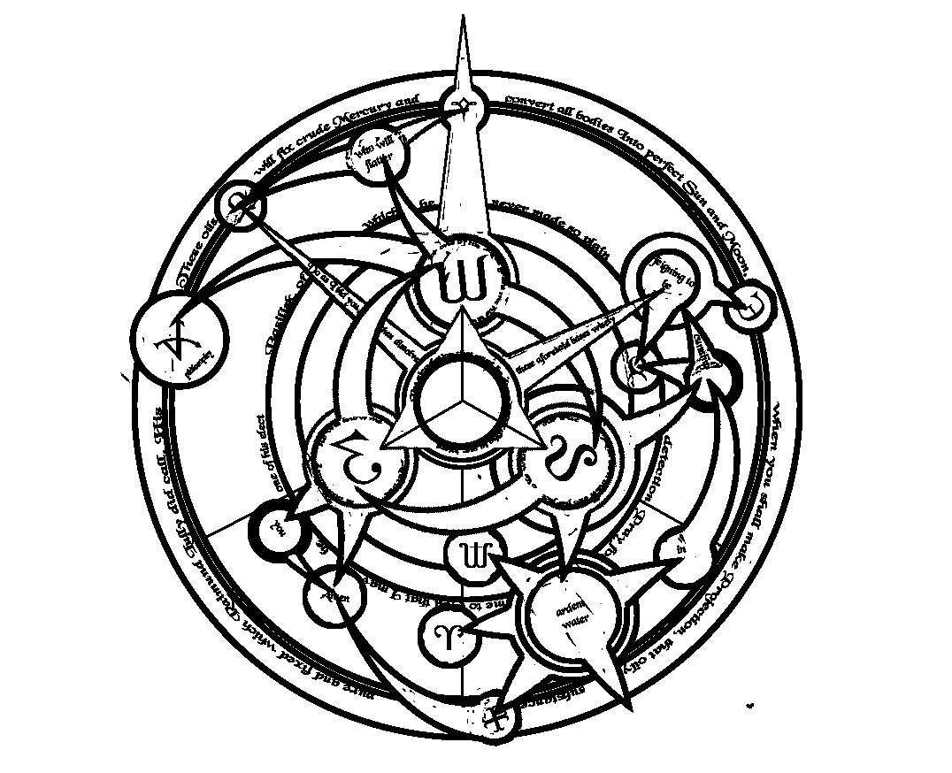 Ultimate Transmutation Circle By Zaints Simbologia Alquimia Runas Alquimia Simbolos