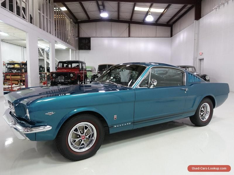 1965 Ford Mustang Fastback | Several GT options #ford #mustang ...