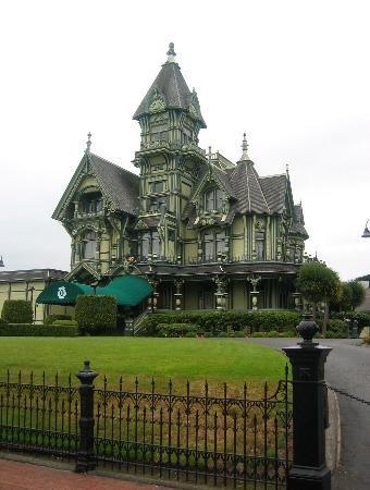 Amazing green Victorian Hotel | Home | Victorians | Pinterest ...
