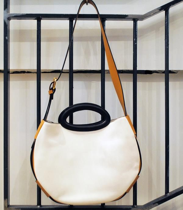 Marni White Balloon Bag