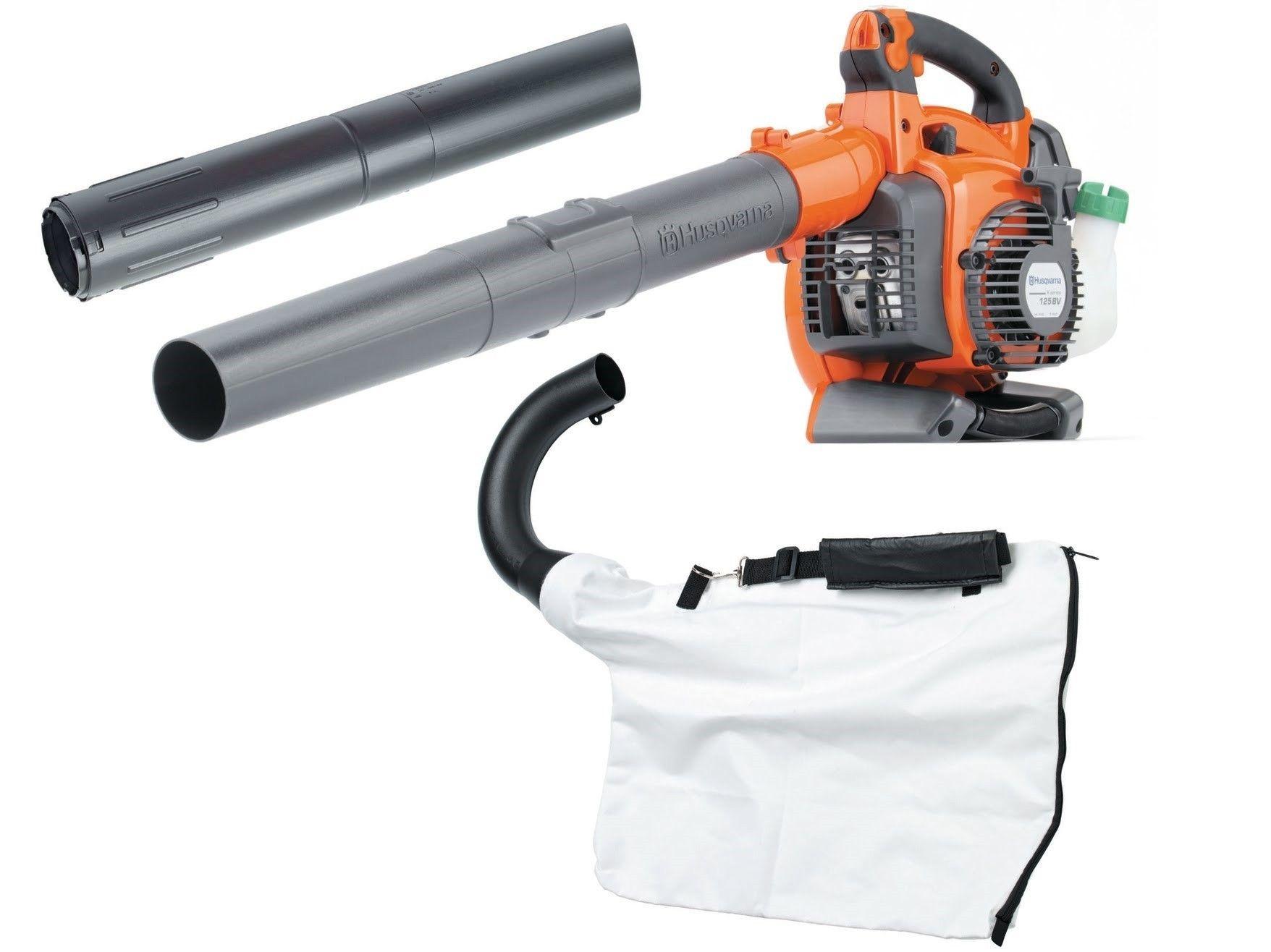 Gas Powered Leaf Blower Vacuum Mulcher Reviews Husqvarna 125bvx 28cc 2 Cycl