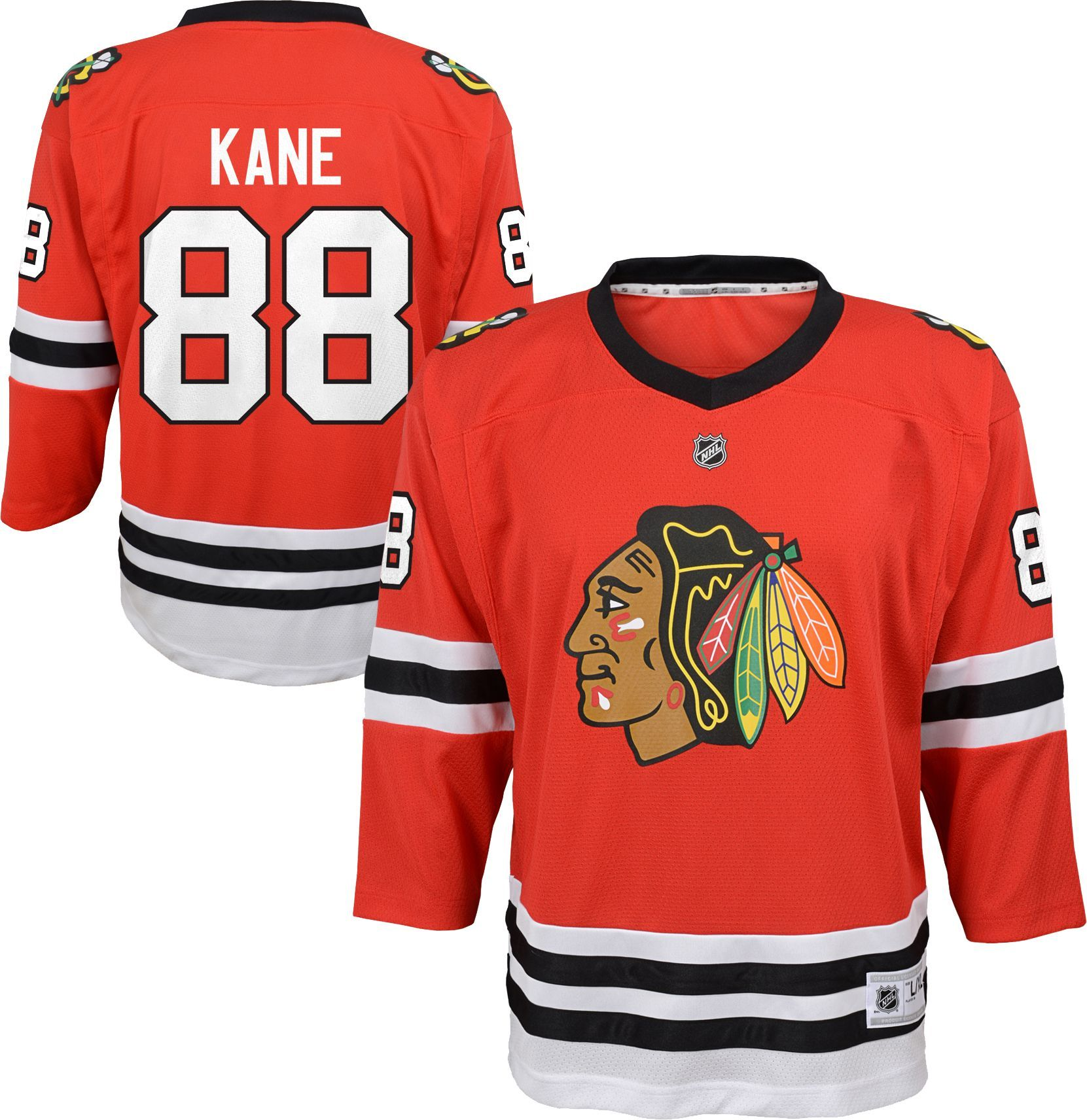 reputable site ee84c 2af89 NHL Youth Chicago Blackhawks Patrick Kane #88 Replica Home ...