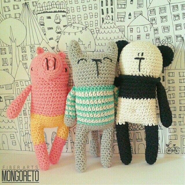 Mongoreto - crochet toys