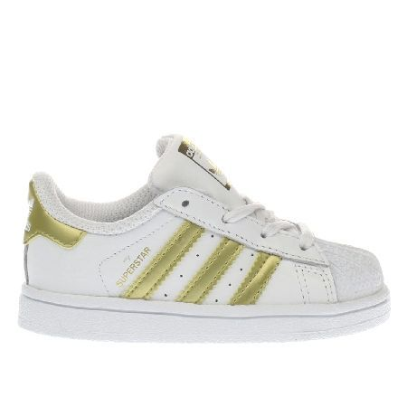 7b423 Adidas Gold Amazon Superstar Kids Bff7a Stripes Fl1cTJK