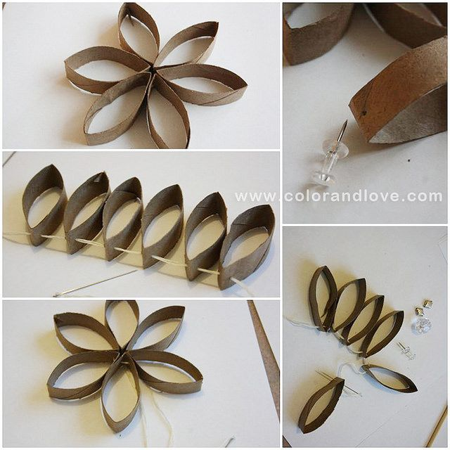Toilet Paper roll Crafts #toiletpaperrolldecor