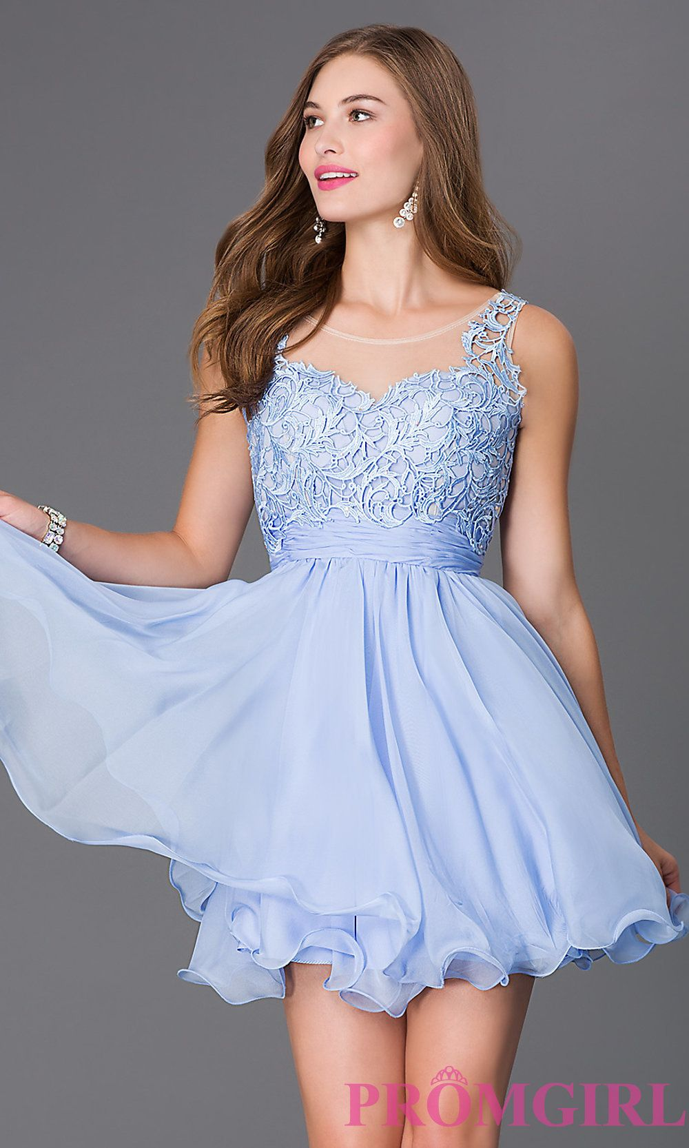 Short sleeveless party dress with lace bodice lace bodice bodice