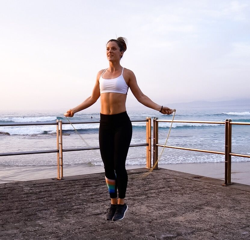 Say hello to your new most favorite traveling workout buddy…