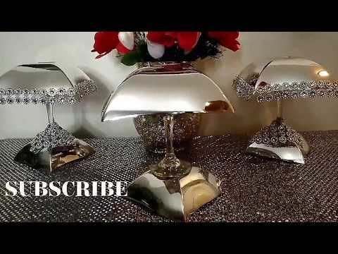 DOLLAR TREE DIY/HOW TO CREATE PLATE CHARGERS & GLASS