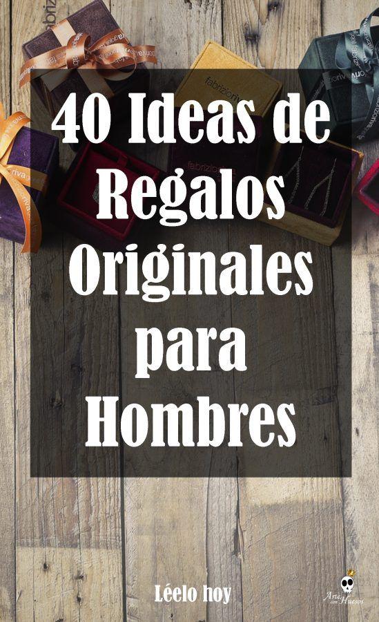 ✔ 40 Ideas de Regalos Originales para Hombres