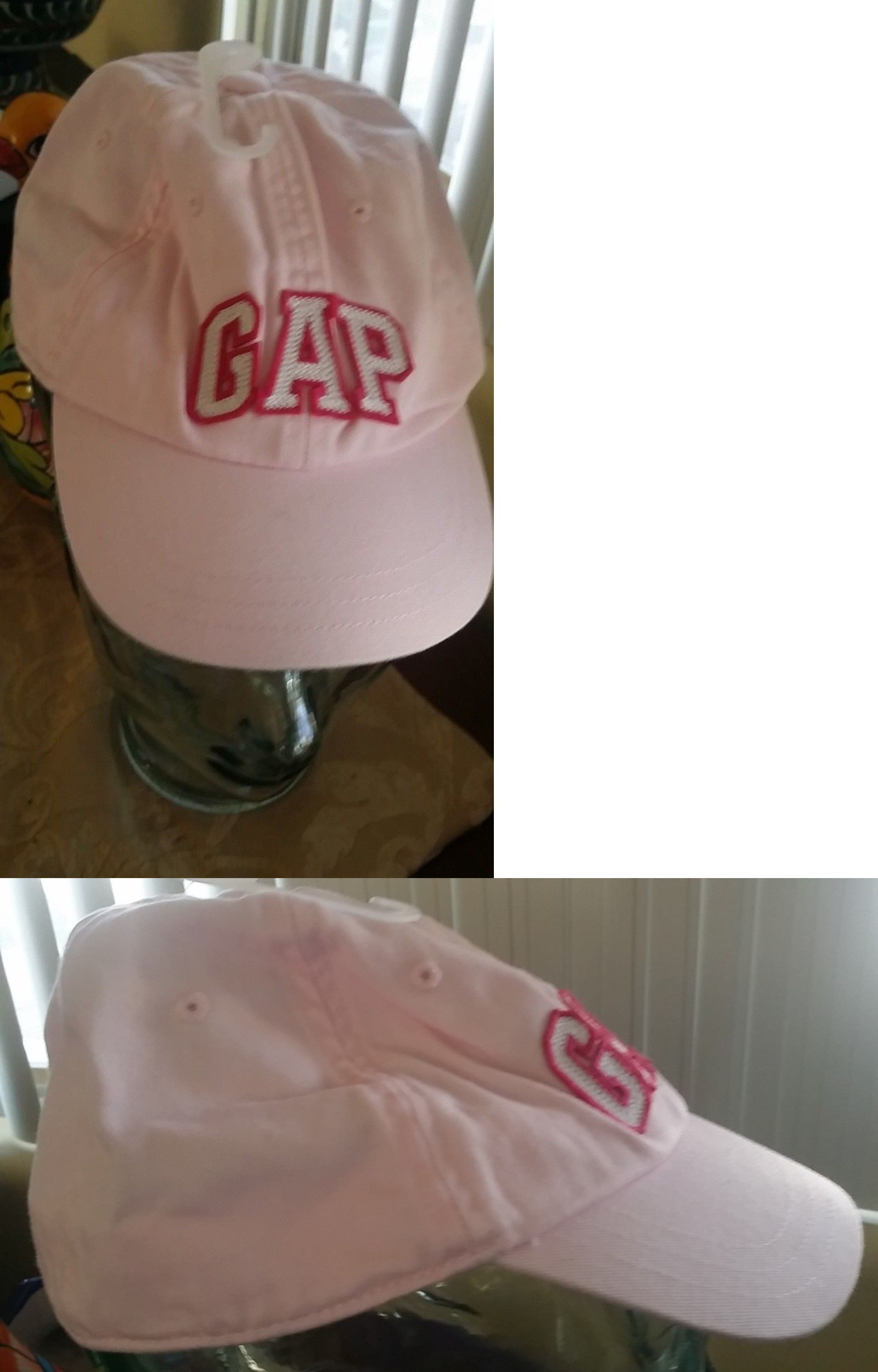 7b12c43c16d21 Hats 163224  New Baby Gap Girls Logo Pink Baseball Hat Cap M L 2-5 Nwt -   BUY IT NOW ONLY   10.5 on  eBay  girls  baseball