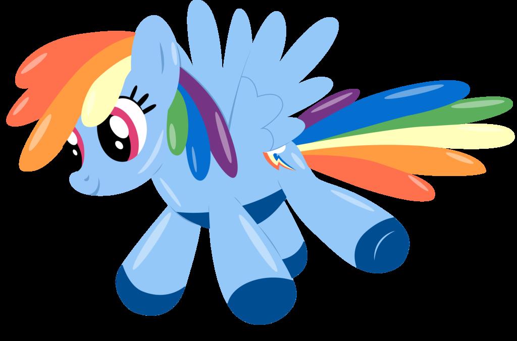 Rainbow Dash Balloon By Stainless33 Deviantart Com On Deviantart