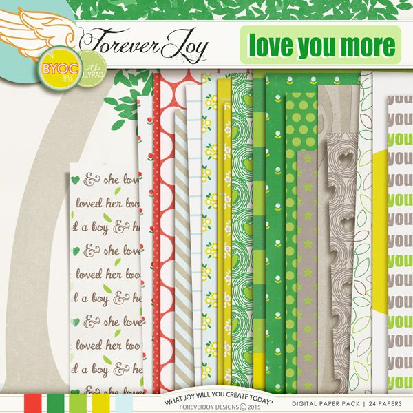 love you more papers