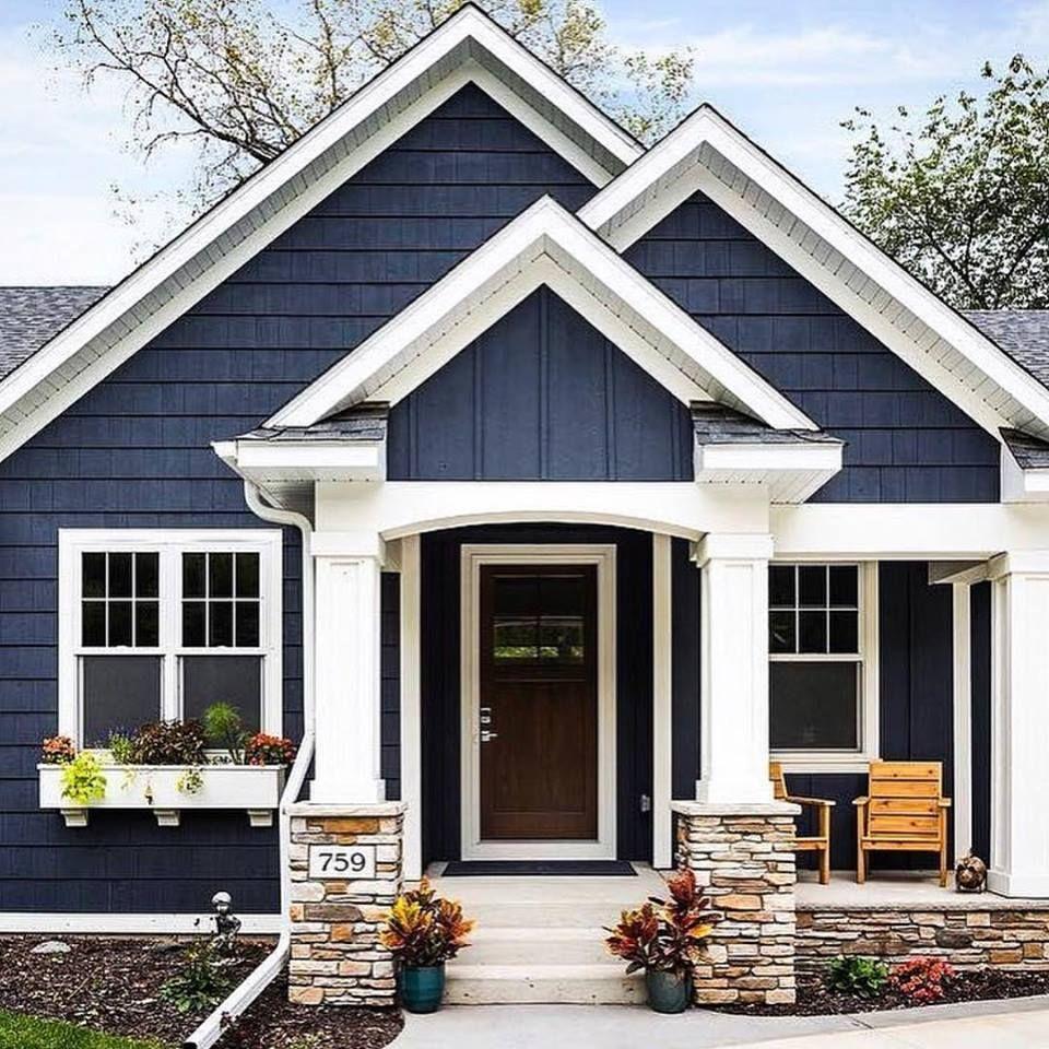 House, Exterior Colour, Texture, Design
