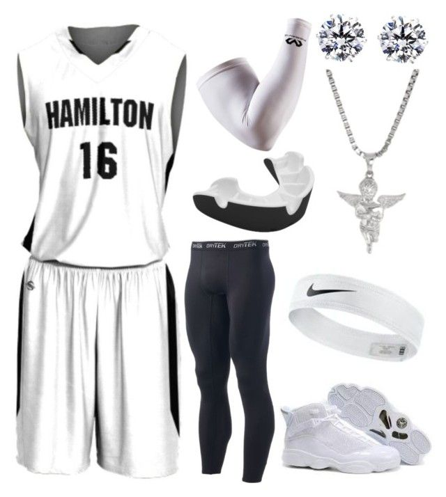 """""""Hamilton Basketball"""" by blvcksymba on Polyvore featuring Tek Gear, men's fashion and menswear"""