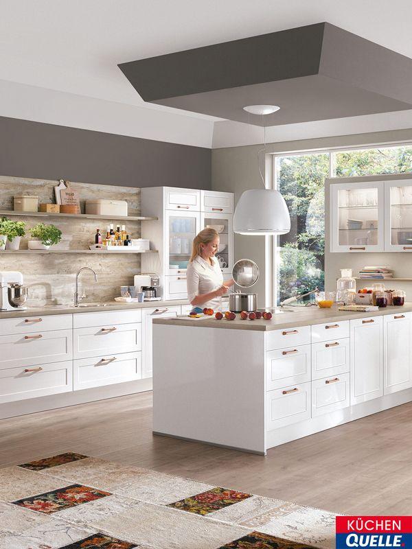 Eine klassische Küche mit einem Hauch Extravaganz, so könnte man - küche hochglanz oder matt