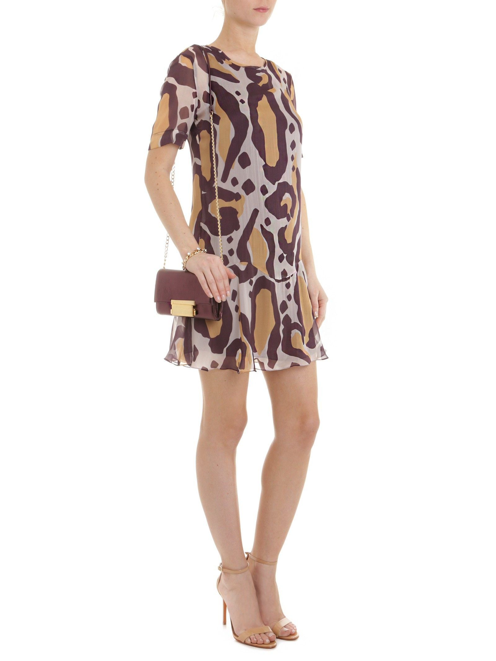 81cb924d82 Shop2gether - VESTIDO SEDA ONÇA PANTANAL - ANIMALE - ANIMAL PRINT ...